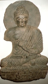 Buddha mit Drittem Auge
