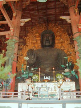 Groer Buddha in Nara