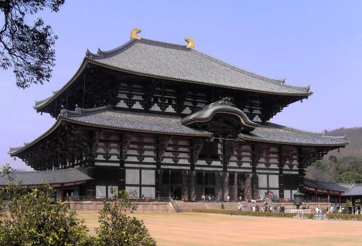 Der Tempel des Großen Buddha in Nara/Japan