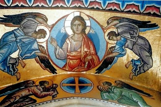 Der von Engeln umgebene kosmische Christus!