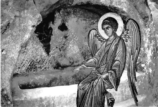 Der Engel am leeren Grab!