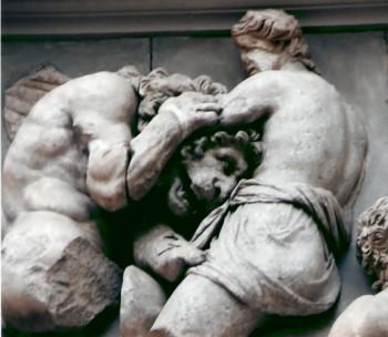 Herkules besiegt den Löwen!