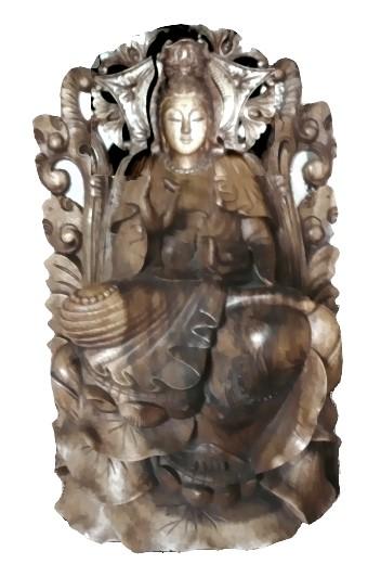 Avalokiteshvara mit eigenem Thron!