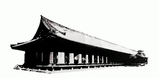 Halle der 1001 Kannon-Bodhisattvas!