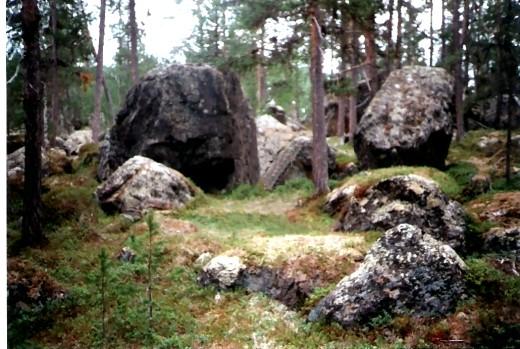 Opferplatz der Samen in Nord-Finnland!