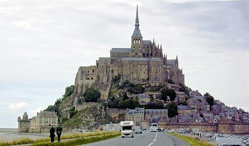 Der dem Erzengel Michael seit mehr als tausend Jahren geweihte Mont Saint Michel!