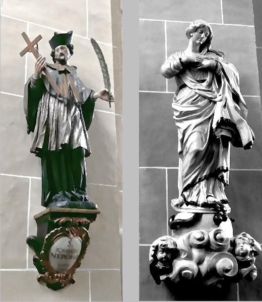 Heilige Agatha und heiliger Nepomuk!