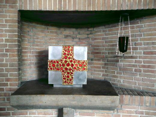 Tabernakel in der Heilig Kreuz Kirche in Mülheim an der Ruhr!