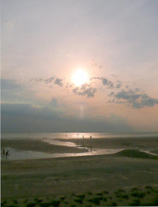 Abendstimmung am Wattenmeer!