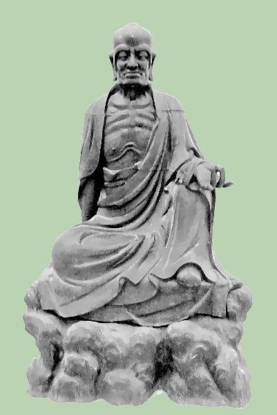 """Statue in dem Gebäude """"Labyrinth"""" der Stiftung Insel Hombroich!"""