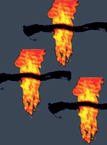 Die Herabkunft des Heiligen Geistes in der Gestalt von Feuerzungen!