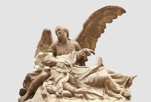 Ein Engel als Seelen-Geleiter
