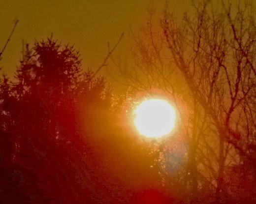 Sonnen-Aufgang Weihnachten 2008