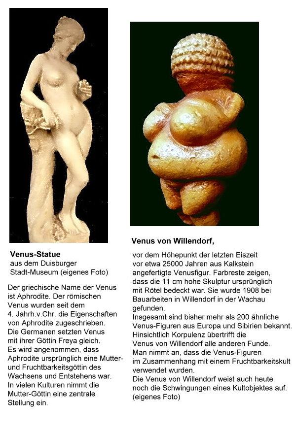 Ist die schöne Aphrodite die Nachfolgerin der Venus von Willendorf?