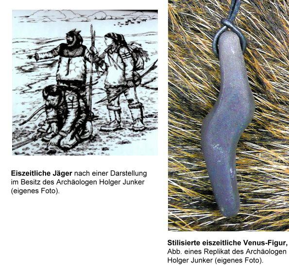 Eiszeit-Jäger und Venus, stilisiert!