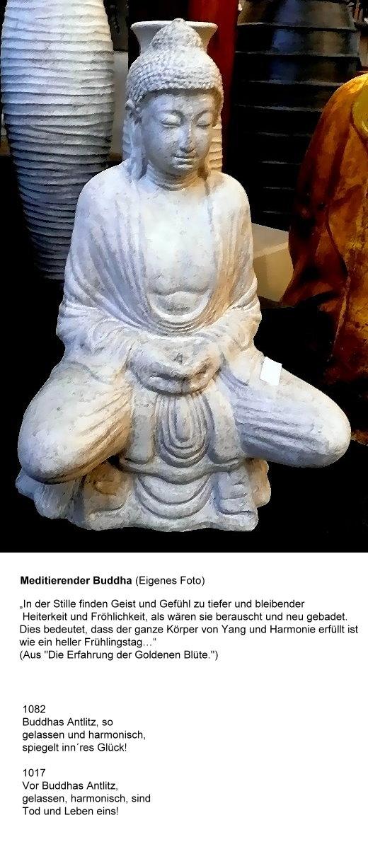 Buddha in einem Verkaufsraum!