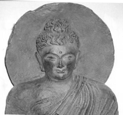 """Buddha mit """"Heiligenschein"""""""