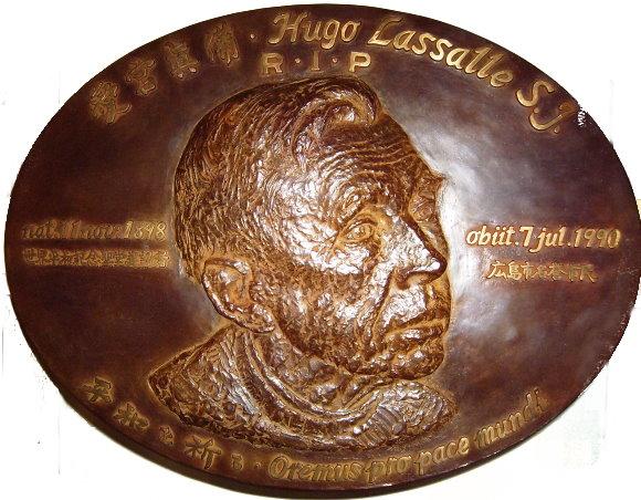 Der Jesuit und Zen-Meister Hugo Lassalle, der Zen ins Christentum einbrachte.