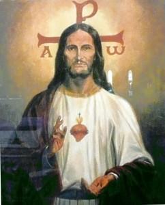 Christus mit starker Ausstrahlung (eigenes Foto)