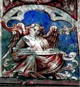 Engel, Abteikirche Kloster Steinfeld (eigenes Foto)