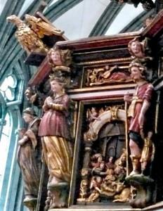 Atman Höheres Selbst über 2 Pers. in Stavanger Kathedrale