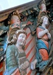 Atman Zwei Personen mit Höherem Selbst Marmorkirche Giske