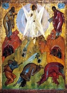 Verklärung Jesu auf dem Berg Tabor