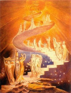 William Blake, Himmelsleiter